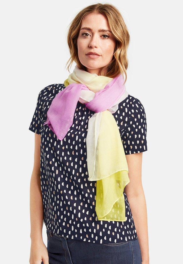 MIT DEGRADÉE MUSTER - Sjaal - lila/pink/gelb gemustert