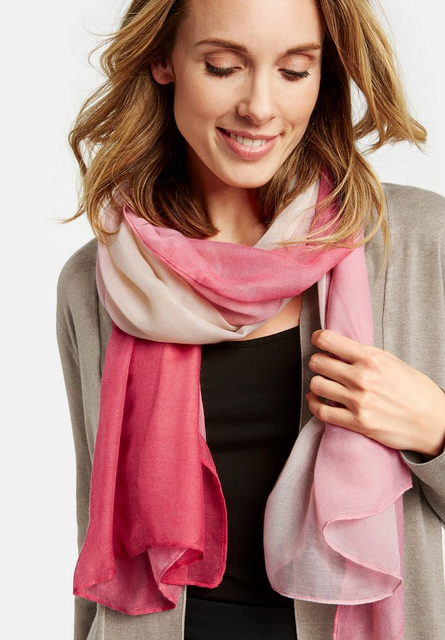 MIT DEGRADÉE MUSTER - Sjaal - blossom/ blush/ beige