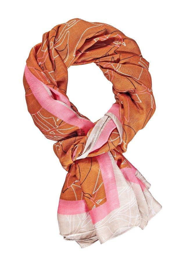 MIT FANTASY-PRINT - Sjaal - gelb/lila/pink druck