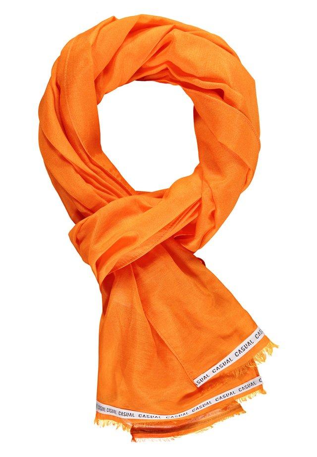 Sjaal - burned orange
