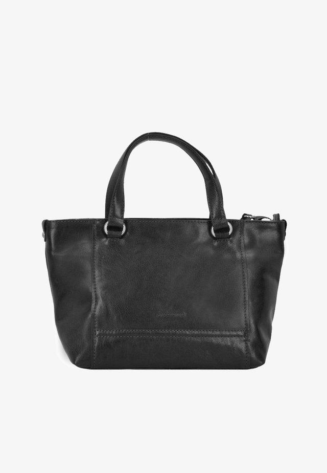 LUGANO - Handbag - black