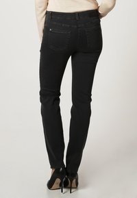 Gerry Weber Edition - ROXY - Straight leg jeans - dark grey - 2
