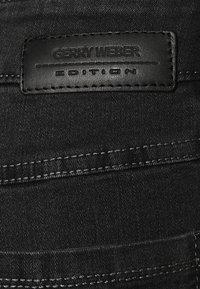 Gerry Weber Edition - ROXY - Straight leg jeans - dark grey - 5