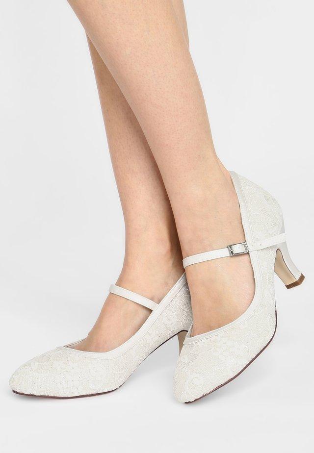 MEGAN - Bridal shoes - ivory