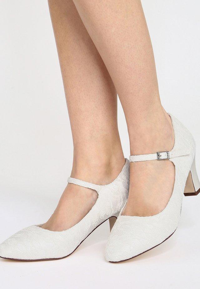 AGNES - Bridal shoes - ivory
