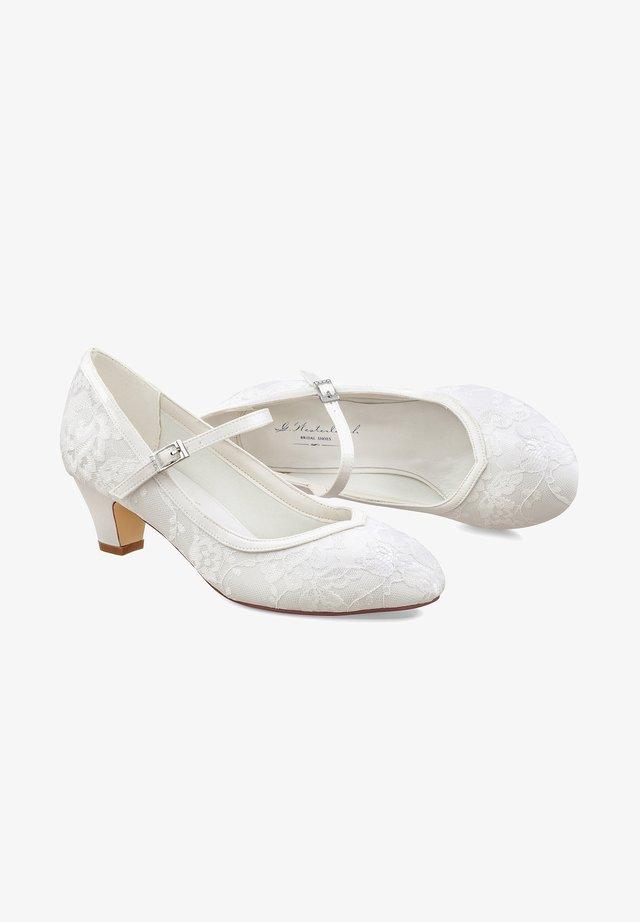 FLORA - Bridal shoes - ivory