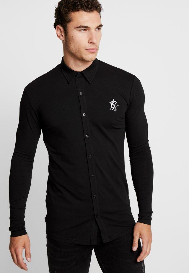 MUSCLE FIT SHIRT - Koszula - black/white