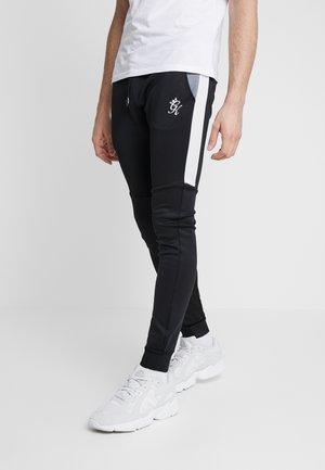 LOMBARDI TRACKSUIT BOTTOMS - Spodnie treningowe - black/charcoal marl