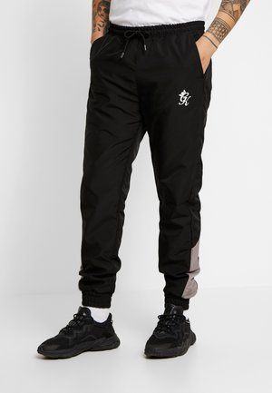 BRAYFORD TRACKSUIT BOTTOMS - Tracksuit bottoms - black