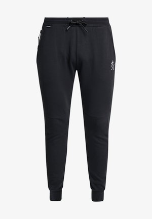 KHAN TRACKSUIT BOTTOMS - Spodnie treningowe - black