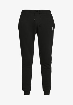 BASIS - Teplákové kalhoty - black
