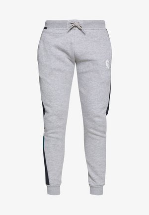 CAPONE - Tracksuit bottoms - grey mark/ink blue