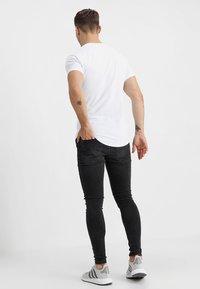 Gym King - DISTRESSED  - Jeans Skinny - dark grey - 2