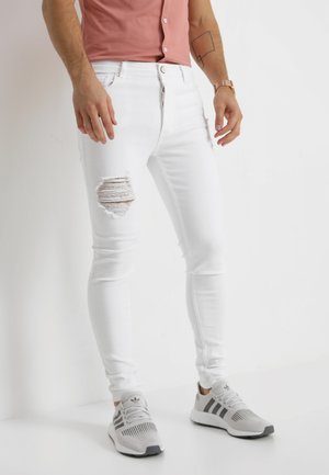 DISTRESSED  - Jeans Skinny - white
