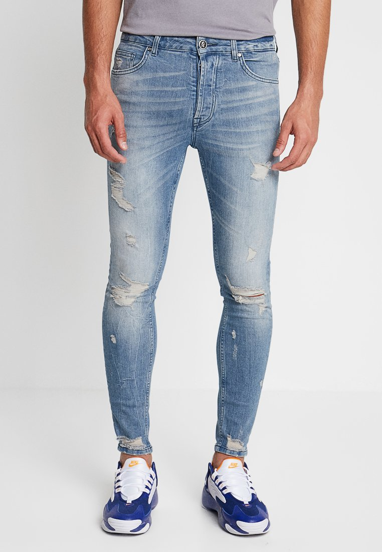Gym King - Jeans Skinny Fit - light blue denim