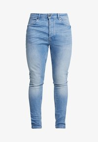 Gym King - Jeans Skinny - mid wash denim - 4