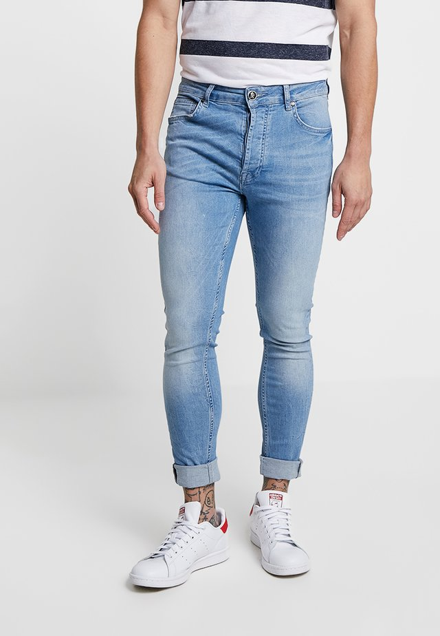 Jeans Skinny - mid wash denim