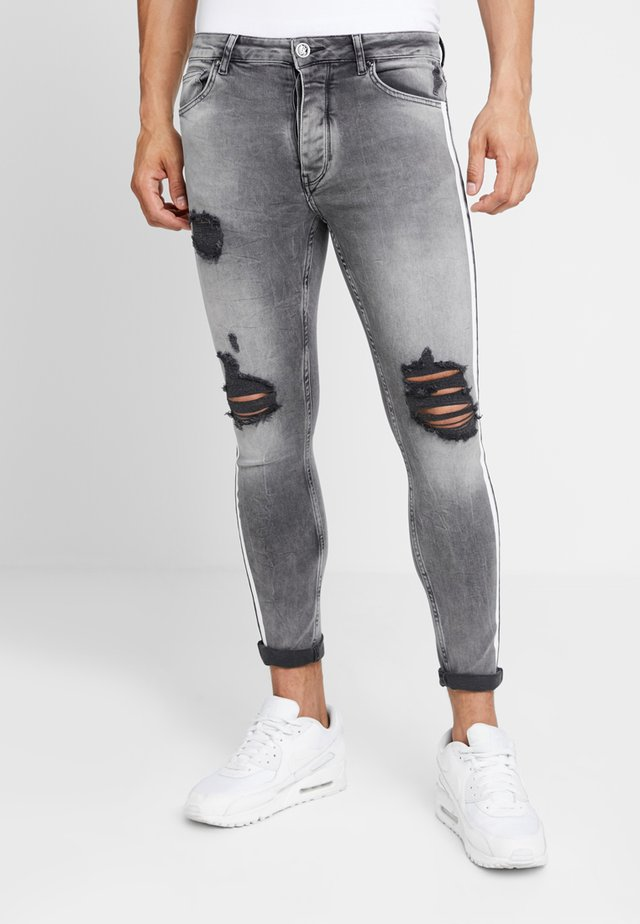 LIGHTNING JACK SIDE TAPE - Jeans Skinny Fit - grey