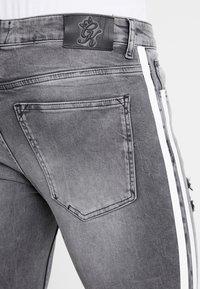 Gym King - LIGHTNING JACK SIDE TAPE - Jeans Skinny Fit - grey - 3