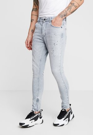 DOLLARS PAINT SPLATTER  - Jeans Skinny Fit - cloud grey