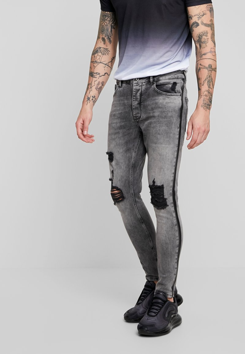 Gym King - MATERSON - Jeans Skinny Fit - grey