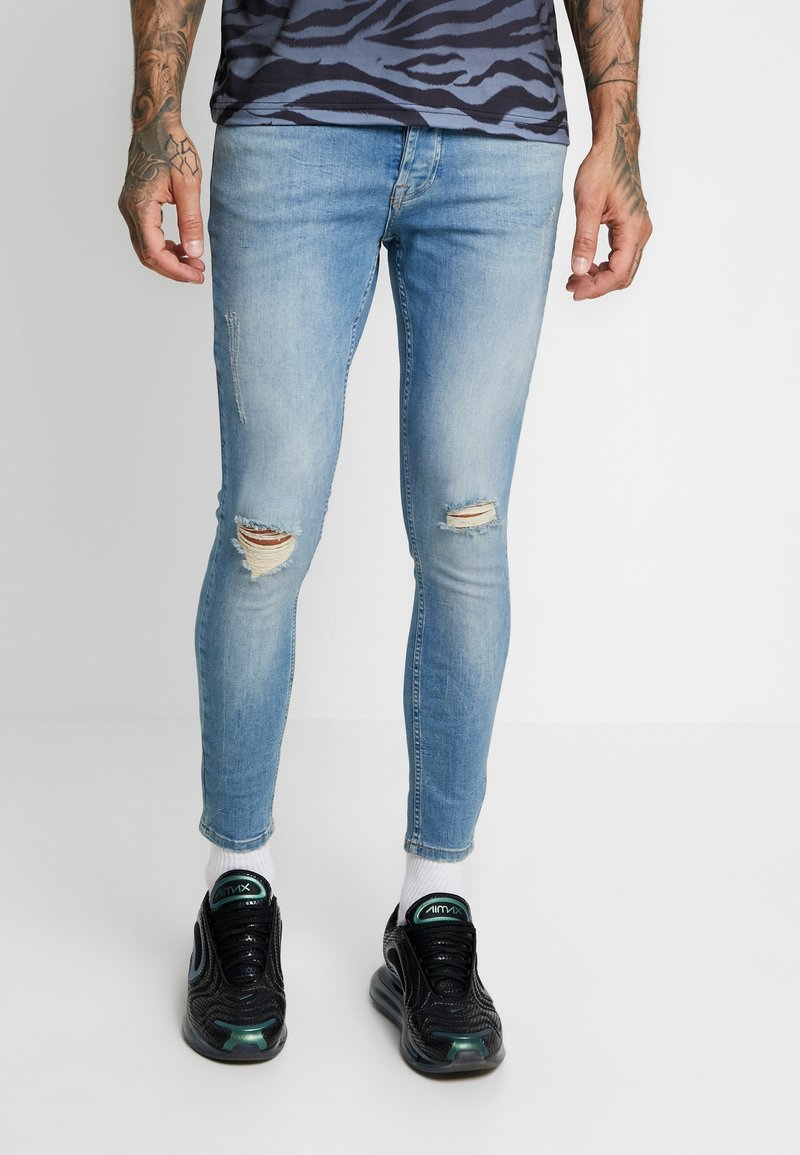 Gym King - CLANTON - Jeans Skinny Fit - light blue
