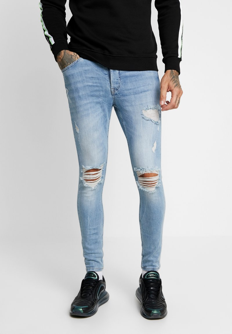 Gym King - RINGO - Jeans Skinny Fit - light blue
