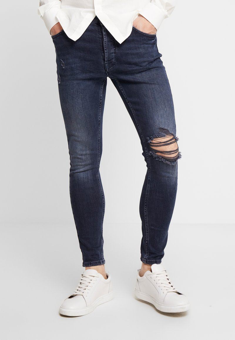 Gym King - WALKER - Jeans Skinny Fit - dark blue