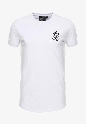 LONG LINE CURVE TEE - T-shirt imprimé - white