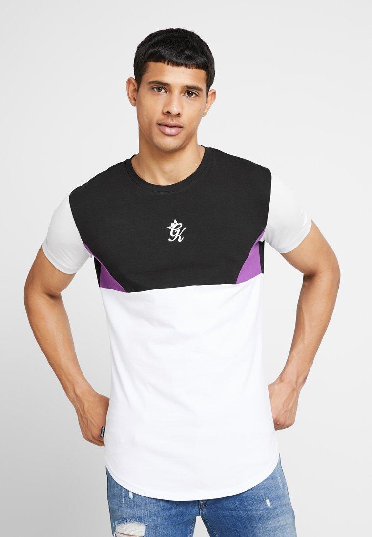 Gym King - LUPO - Camiseta estampada - black/purple