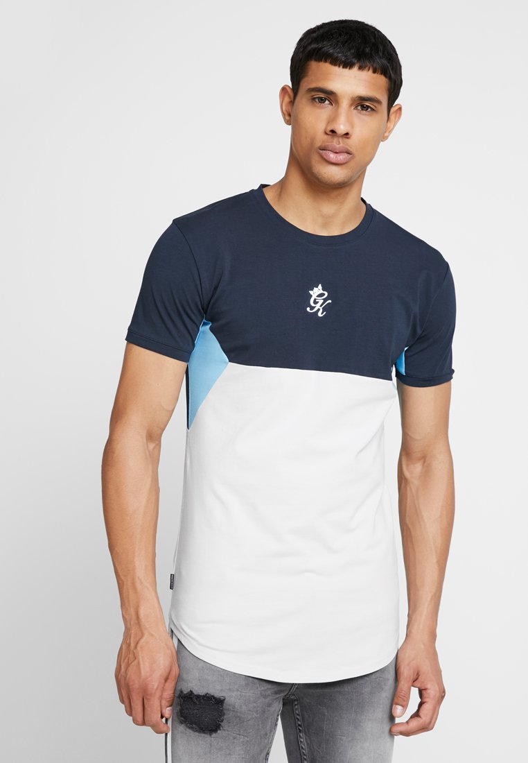 Gym King - SONNY - Basic T-shirt - navy/drizzle/blue