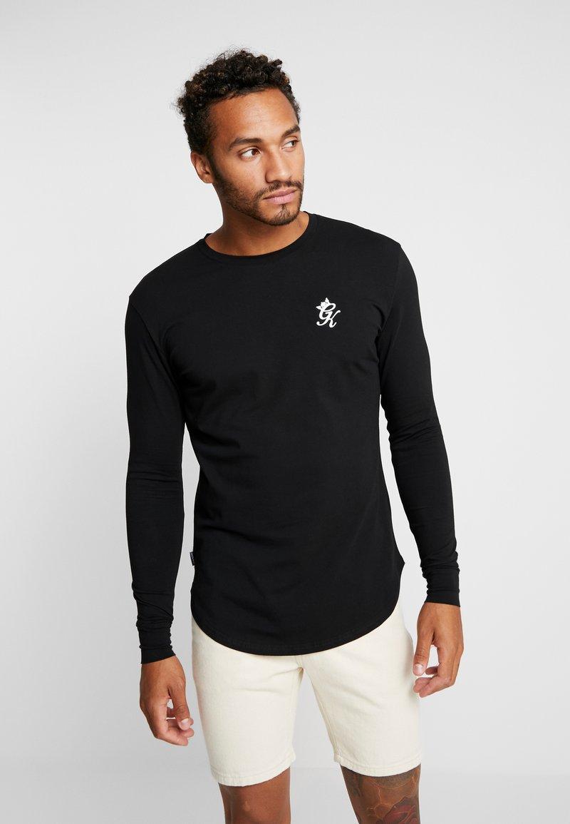 Gym King - Camiseta de manga larga - black
