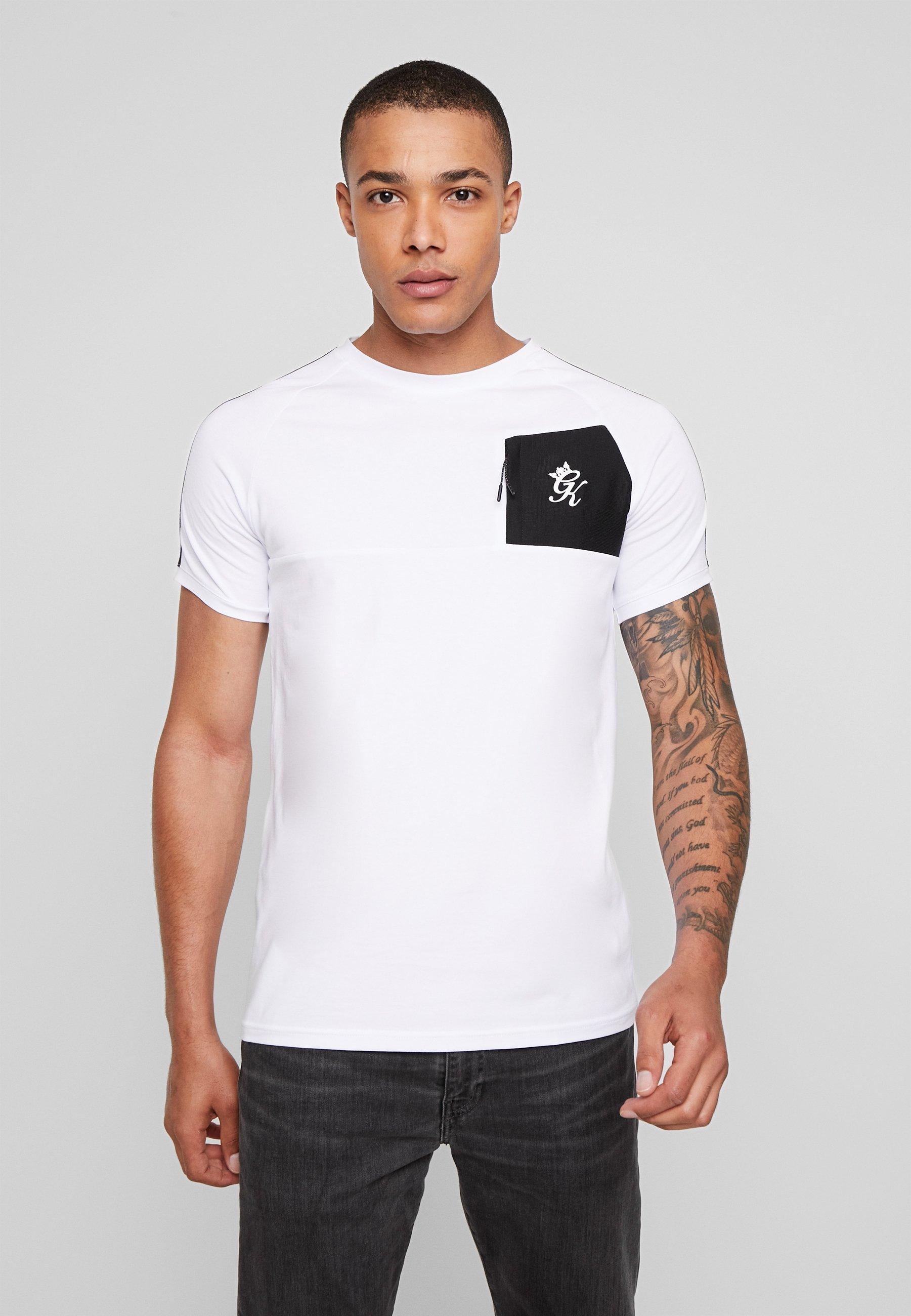 King FosterT Gym Imprimé shirt White 0y8vnwOmN