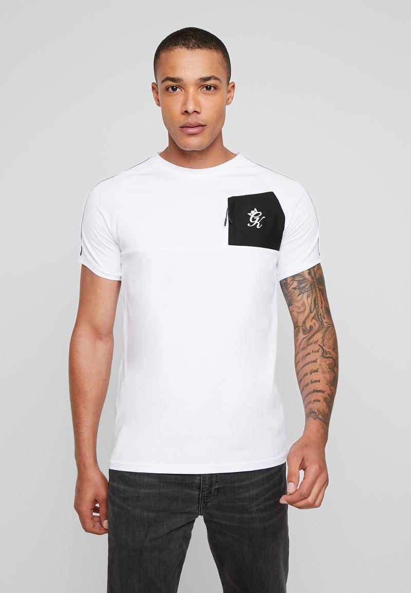 Gym King - FOSTER - T-shirts print - white