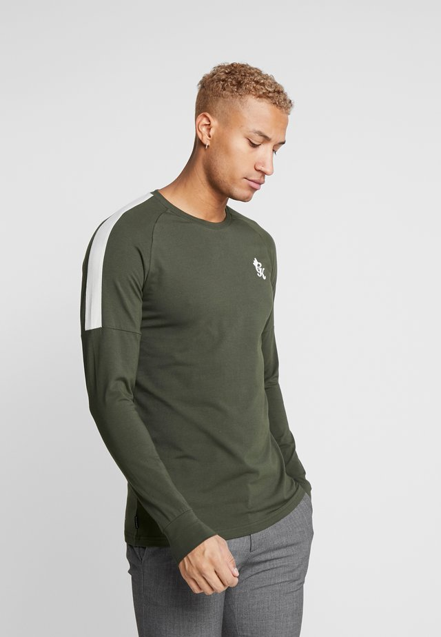 CORE PLUS LONG SLEEVE - Longsleeve - forest/stone