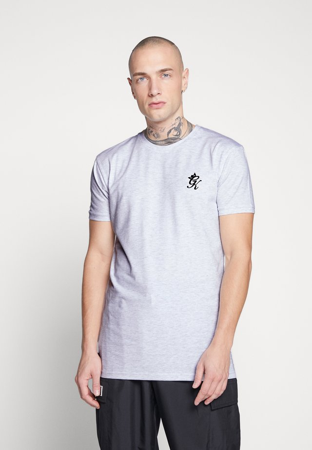 ORIGIN  - T-shirt med print - snow marl