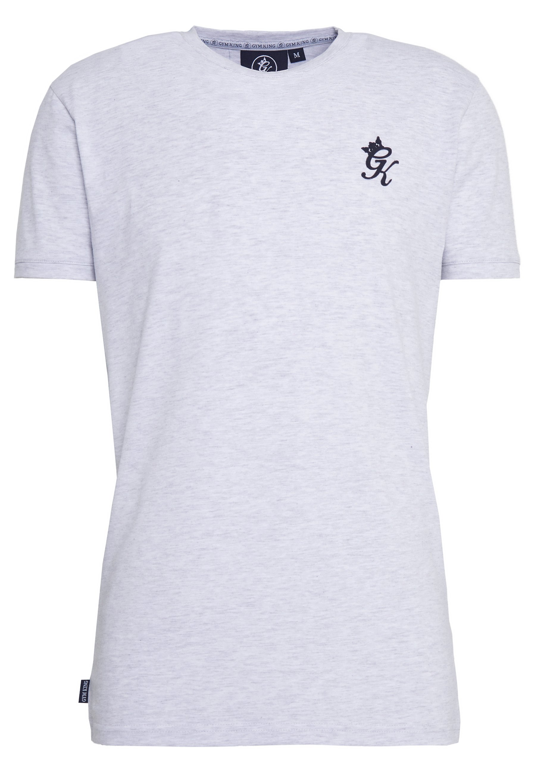 Gym King ORIGIN - Print T-shirt - snow marl