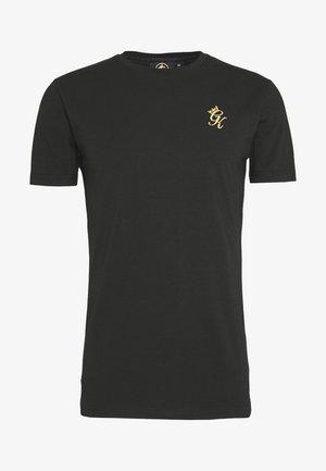 ORIGIN - T-shirt z nadrukiem - black/gold