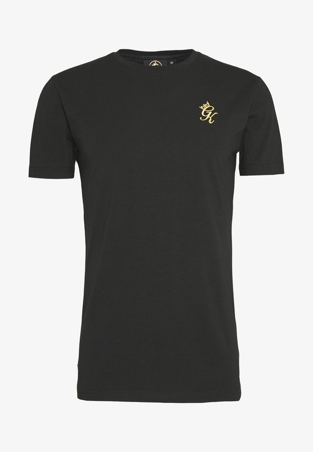 ORIGIN - T-shirt imprimé - black/gold