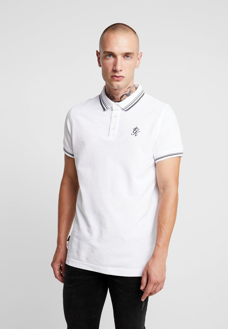 Gym King - Poloshirt - white