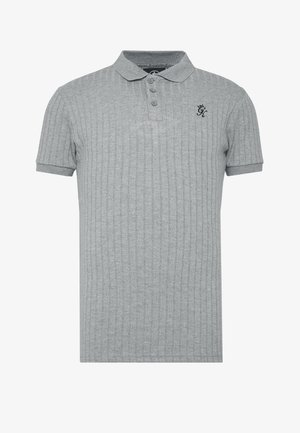 MUSCLE FIT - Poloshirt - grey marl