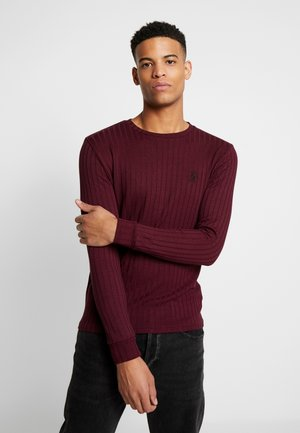 MUSCLE FIT CREW NECK JUMPER - Svetr - port