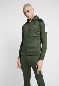 Gym King - CORE PLUS TRACKSUIT TOP - Trainingsvest - forest/stone - 0