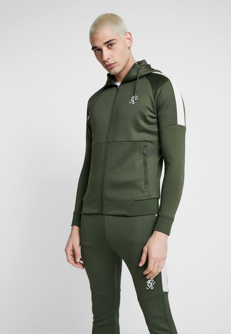 Gym King - CORE PLUS TRACKSUIT TOP - Trainingsvest - forest/stone