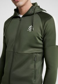 Gym King - CORE PLUS TRACKSUIT TOP - Trainingsvest - forest/stone - 5