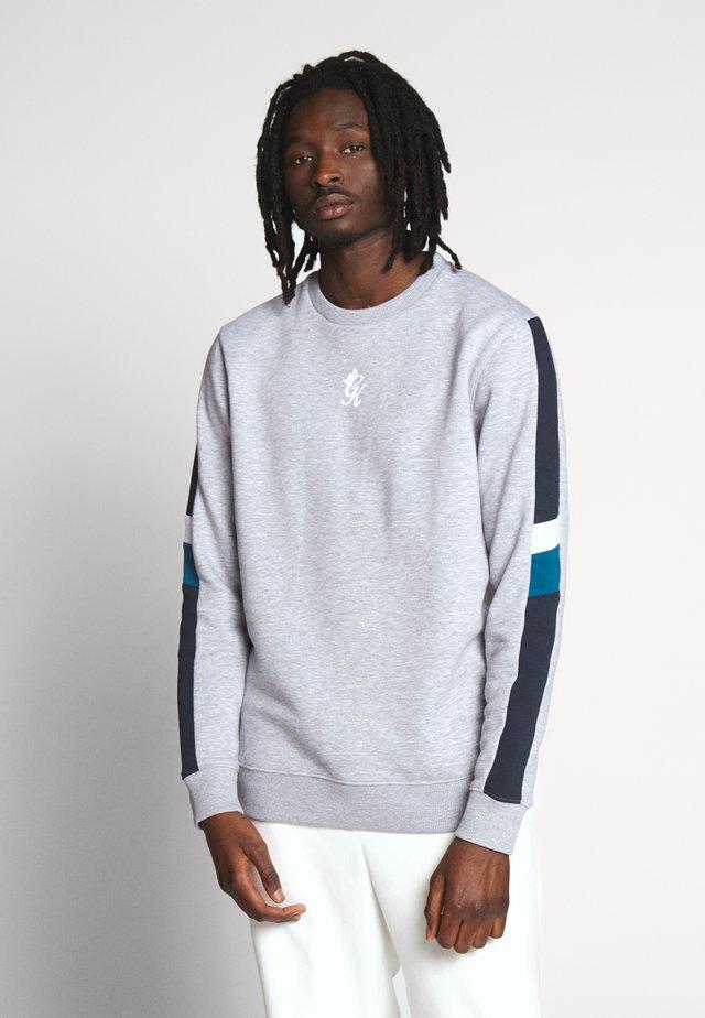 CAPONE  - Sweatshirt - grey marl/ink blue