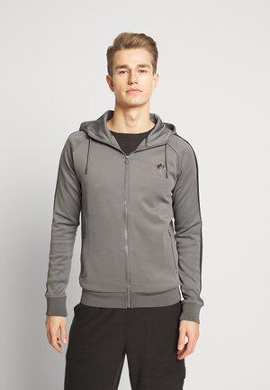 BASIS TRACKSUIT  - veste en sweat zippée - grey