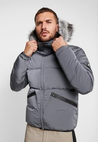 Gym King - MAGELLAN SHORT  - Zimní bunda - steel - 0