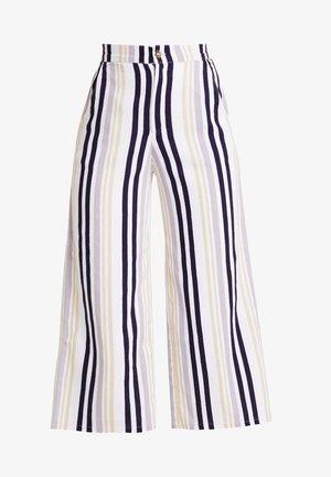 ULTRA HIGH RISE WIDE LEG PANT - Pantalones - multi