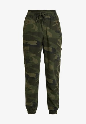 ULTRA HIGH RISE JOGGER - Trousers - olive